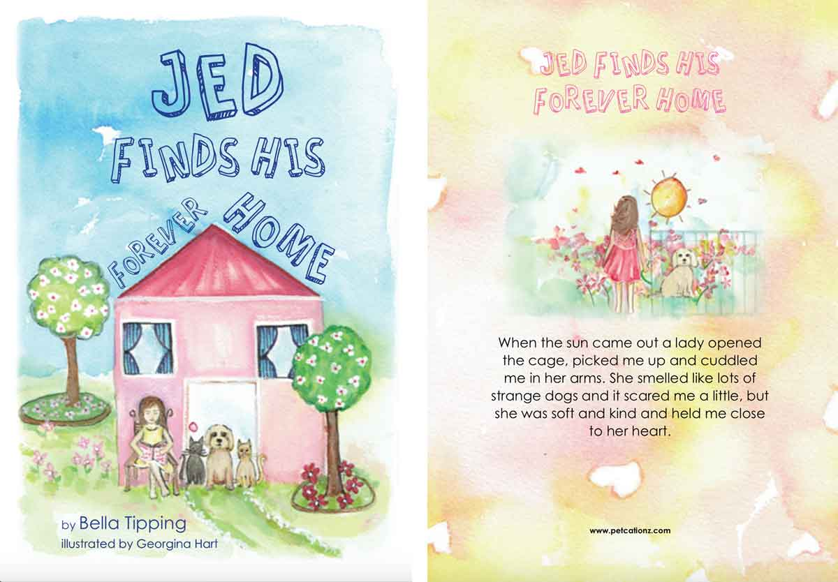 Jed Finds His Forever Home Cover